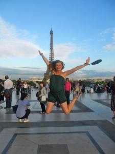 My first trip to Paris, August 2011